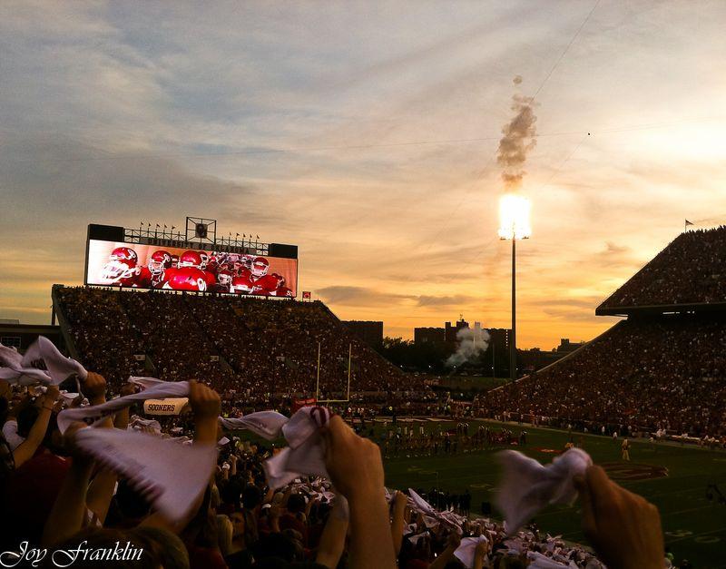 OU Missouri Game Sunset 1 (1 of 1)