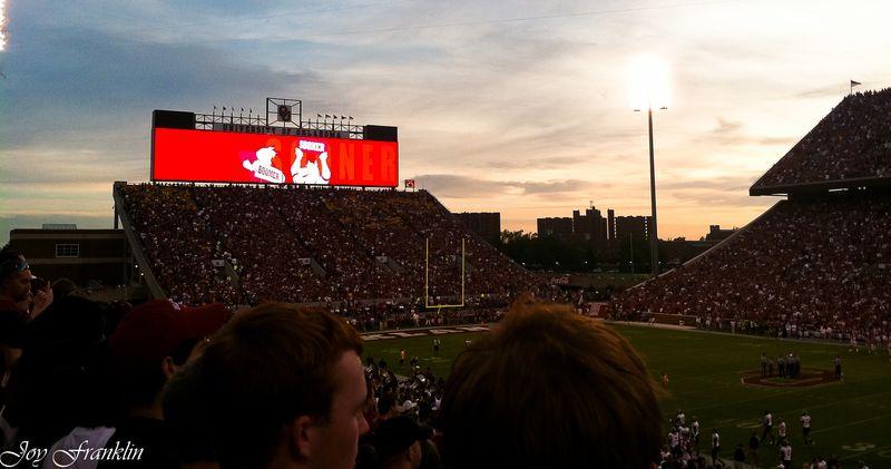 OU Missouri Game Sunset 2 (1 of 1)