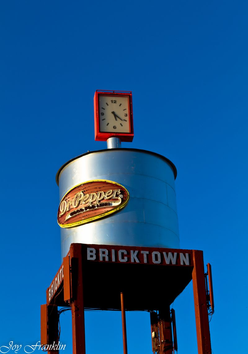 Bricktown Clock (1 of 1)