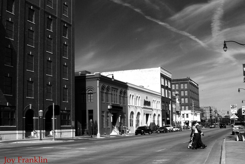 Bricktown in BW