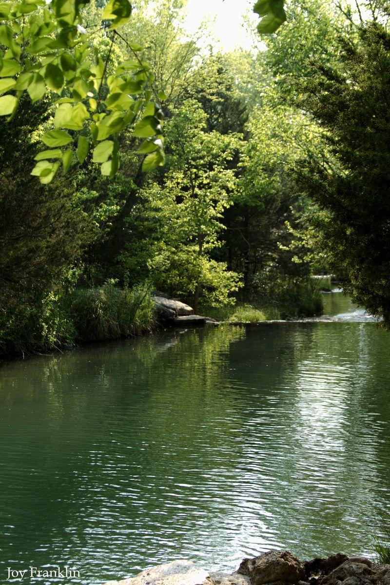 Beautiful Travertine Creek