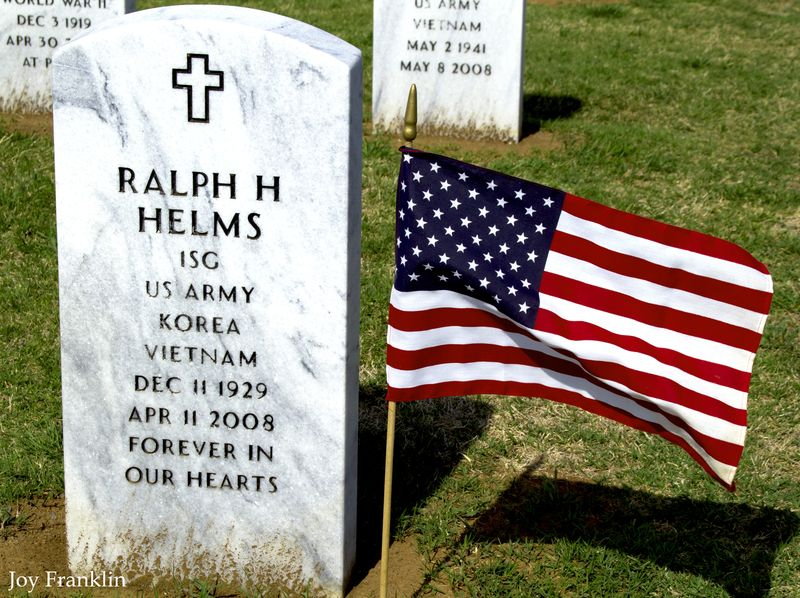 Ralph Helms Grave Ft Sill