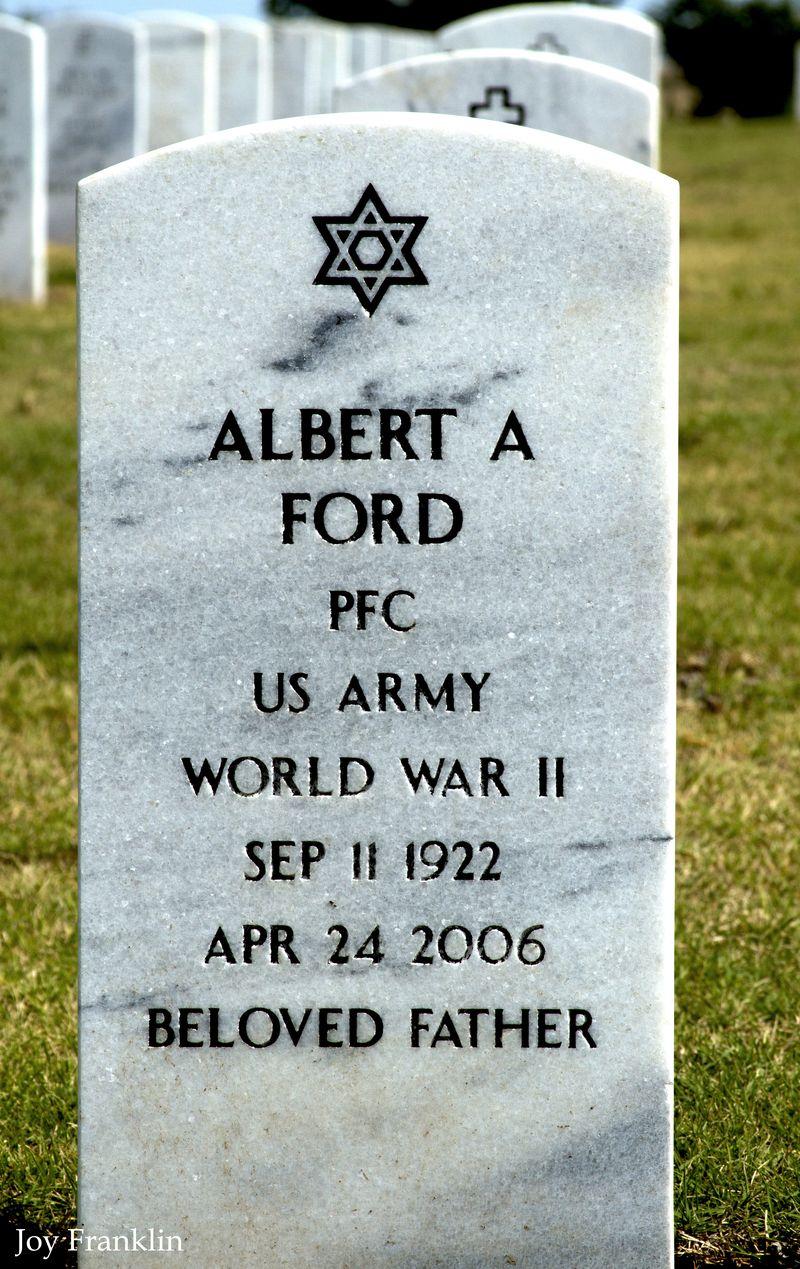Albert Ford WWII Vet