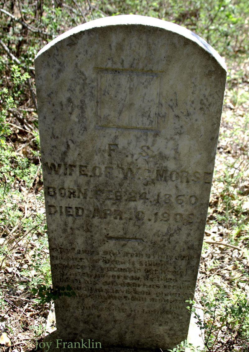 FS Morse Cruce cemetery