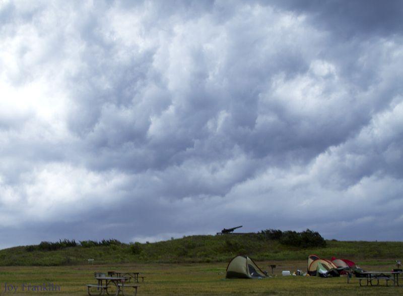Flattening tents