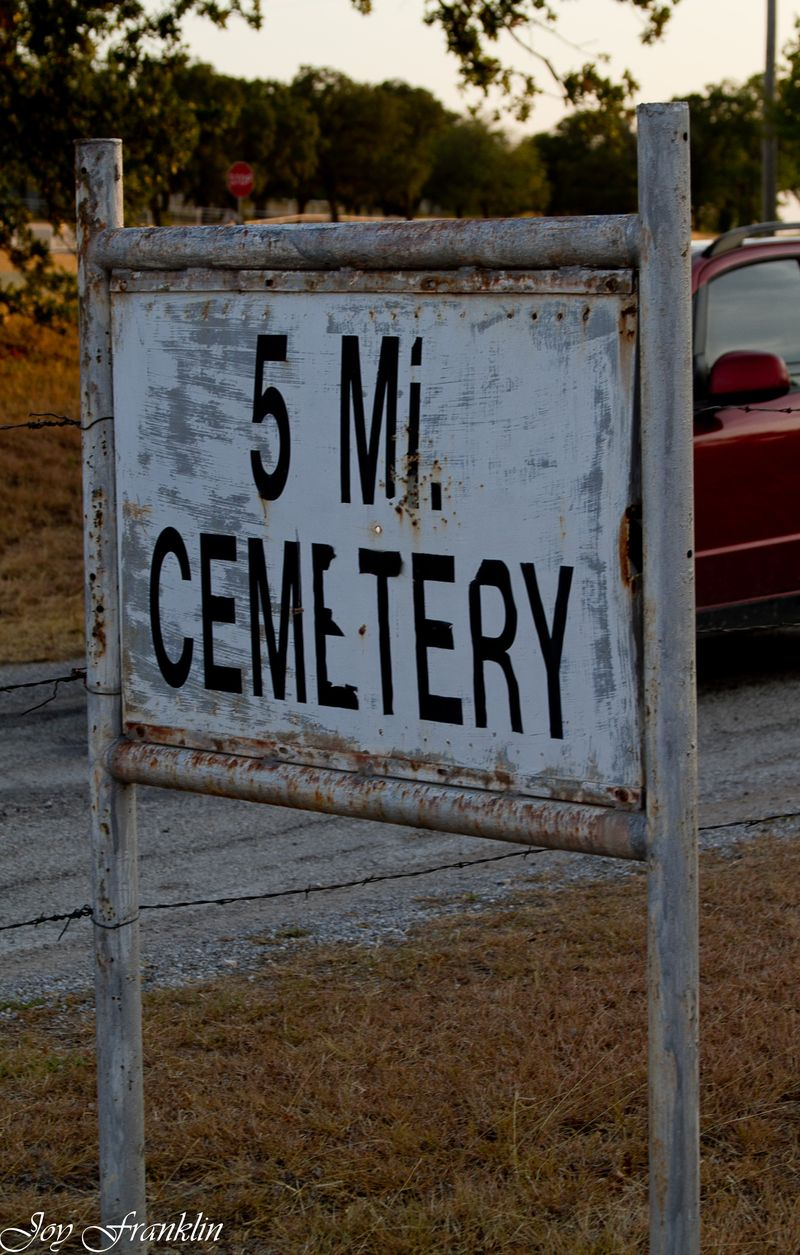 5 Mile Cemetery Oklahoma (1 of 1)
