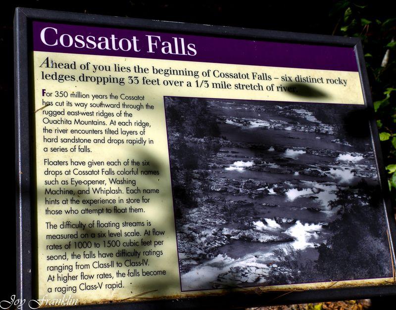Cossatot Falls Sign-128