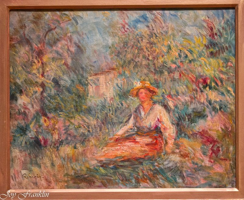 Renoir -Girl in the Woods- OKCMOA-003