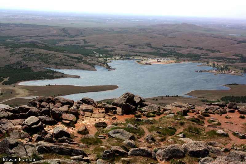 Wichita Mountains By Row