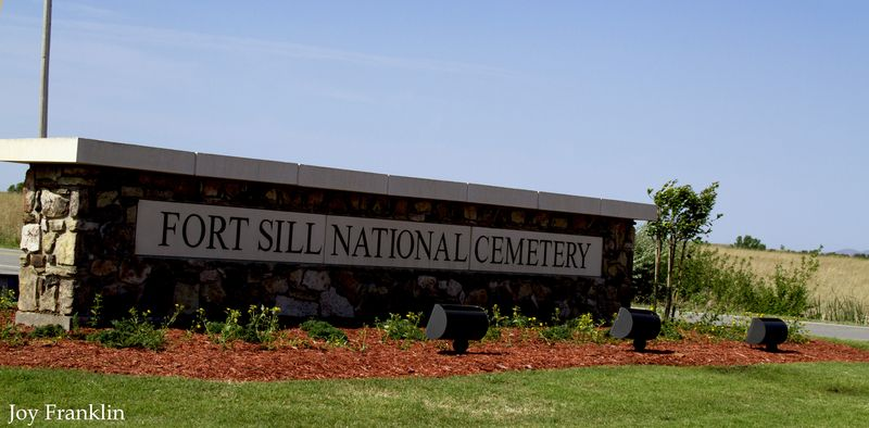 Ft Sill National Cemetery Sign
