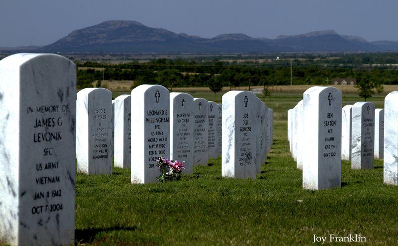 Fort Sill National Cemetery near Elgin