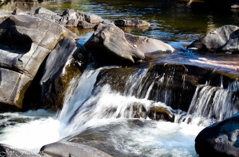 Cossatot Falls Waterfall -109