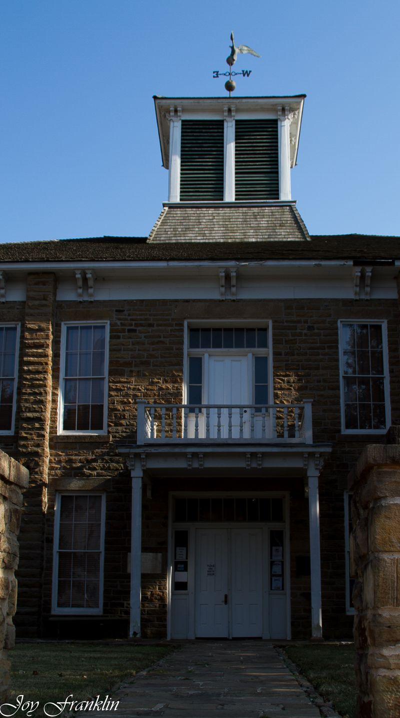 Muscogee Creek Capitol building  (1 of 1)