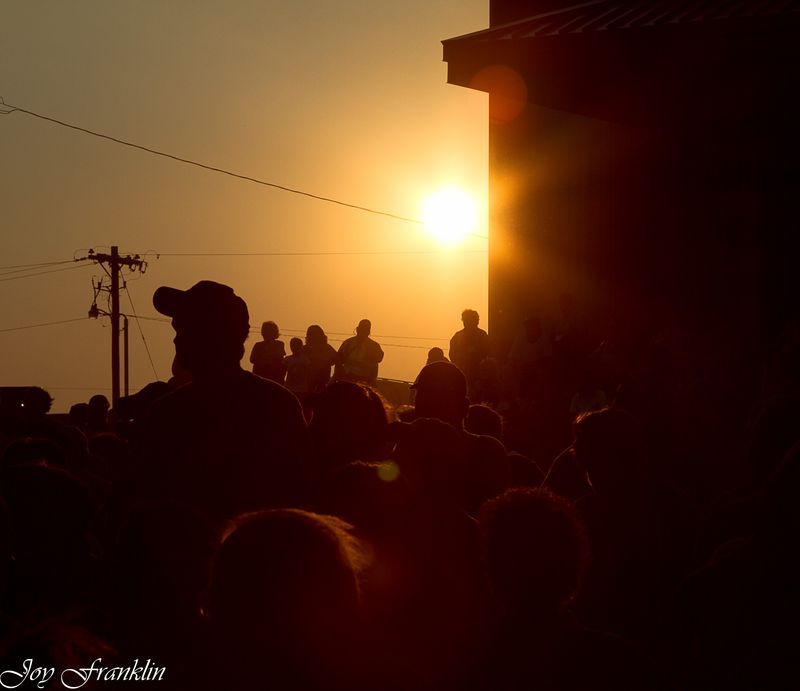 Sunset at the concerts (1 of 1)