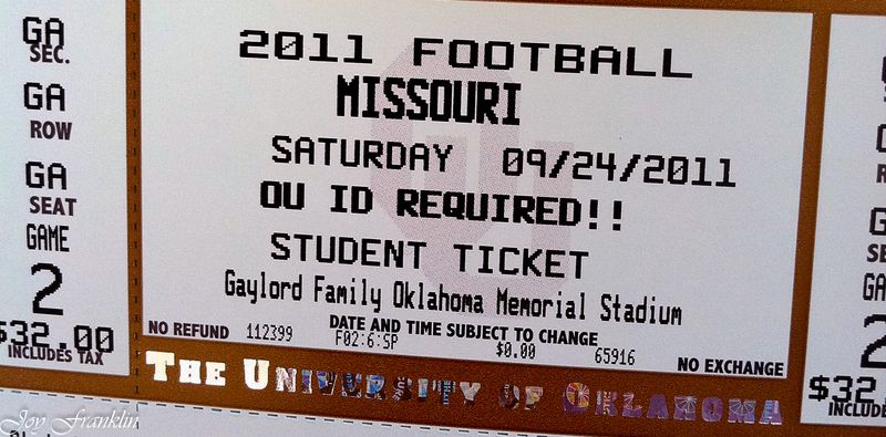 Football Ticket (1 of 1)