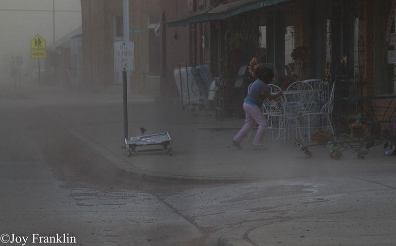 NYE Dust Storm Blair Oklahoma-2