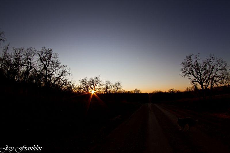 Fisheye sunset-1