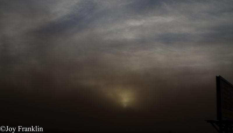 Dust Storm Near Altus Oklahoma December 31 2011