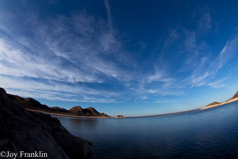Lake Altus before Dust Storm
