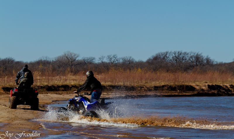Four Wheeling near Waurika-093
