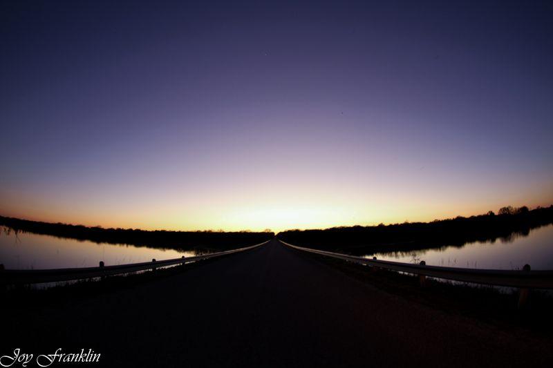 Waurika at sunset