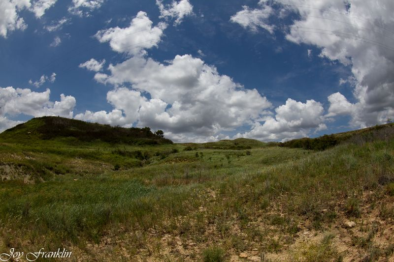 Fisheye clouds on sugarloaf -2873