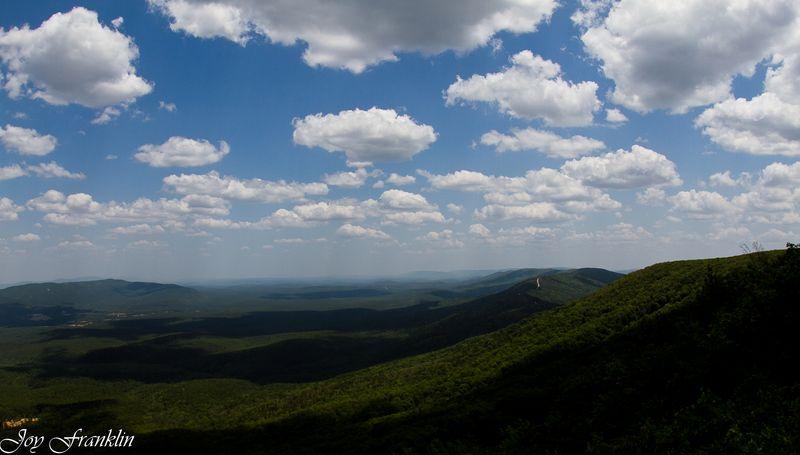 View of Rich Mountain facing Arkansas -3671