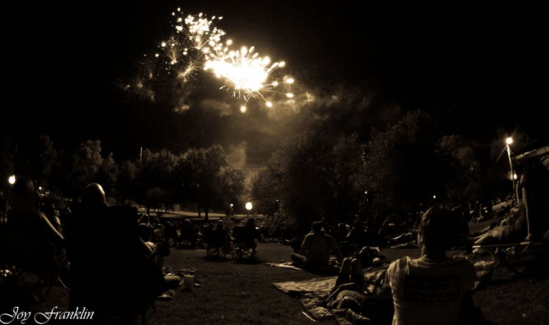 Fireworks old style-3256