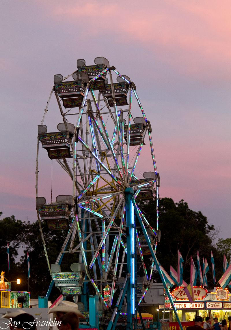 Ferris Wheel and Cotton Candy Sky-4599