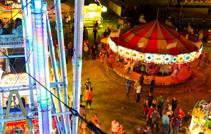 On the Ferris Wheel in Velma -4665