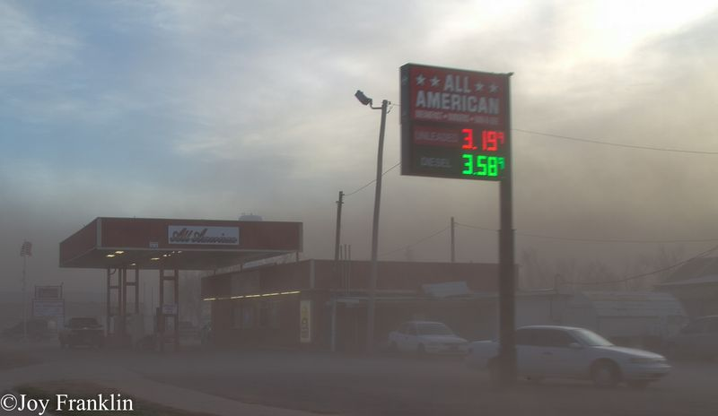 New Years Eve Dust Storm Blair Oklahoma