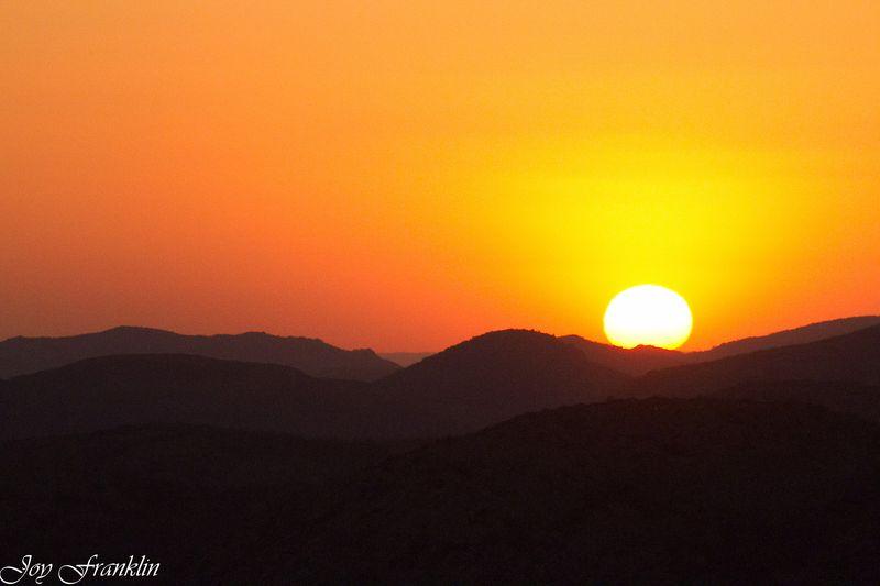 Sunset on Mount Scott-1