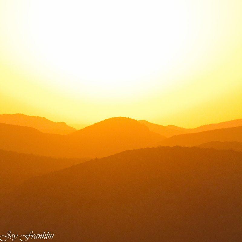 Sunset on Mount Scott-1-2