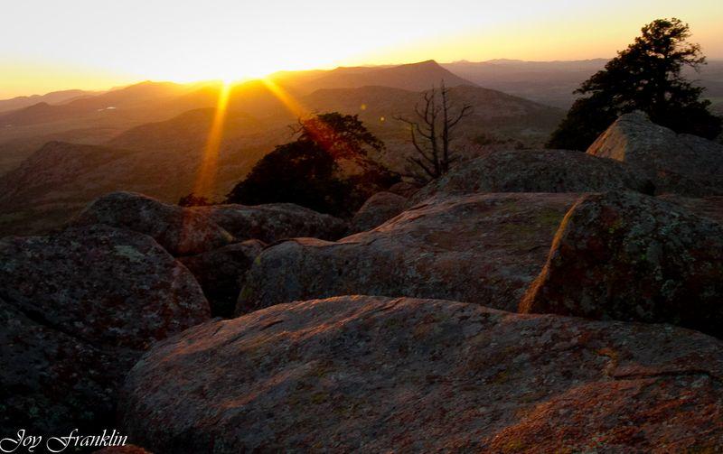 Sunset on Mount Scott-1-4