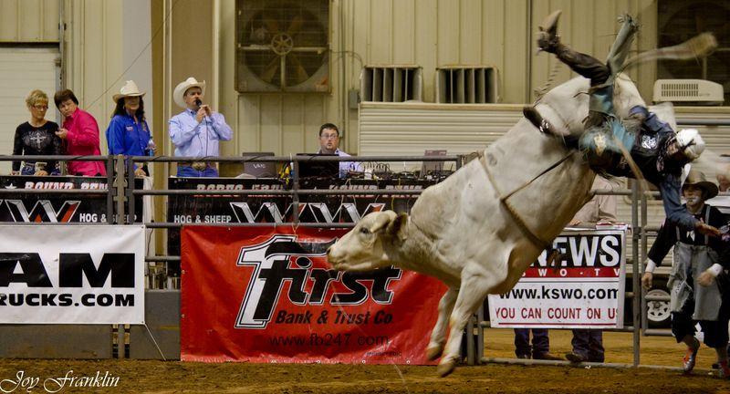 Bull Riding at Duncan Oklahoma (1 of 1)