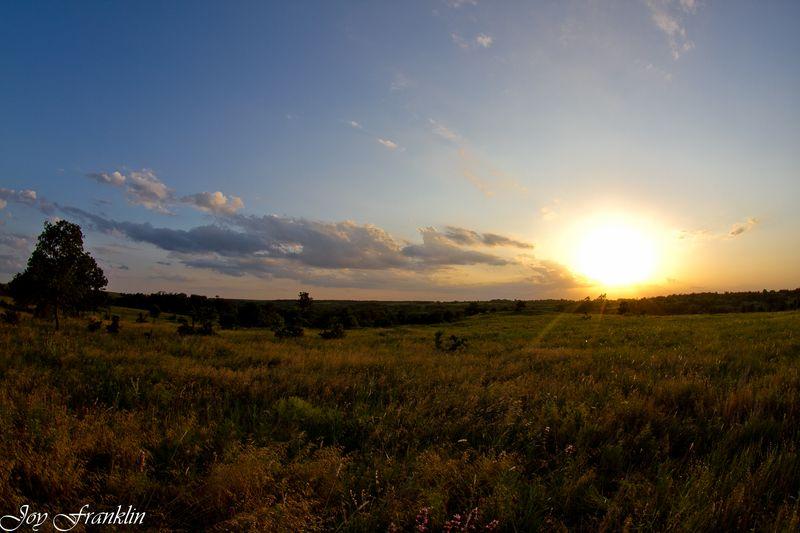 Sun lowering in Oklahoma-2096