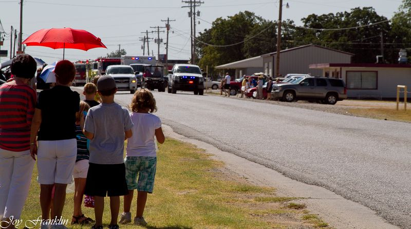 Parade at Old Settler's Days in Velma-4750