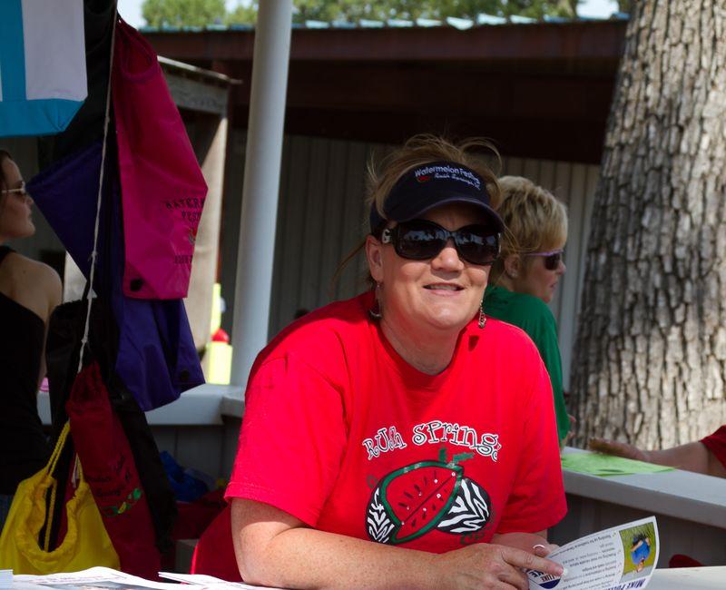 Kim Duke at Rush Springs Watermelon Festival -5436
