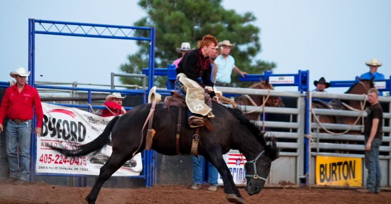Rush Springs Rodeo -5193