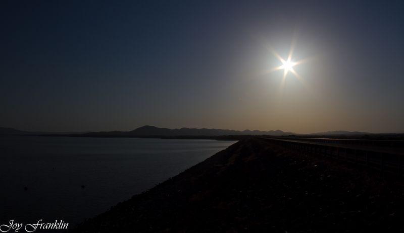 Sardis Lake in the Early Morning-3395