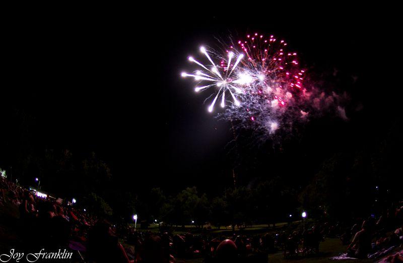 Fireworks in Marlow Oklahoma -3246