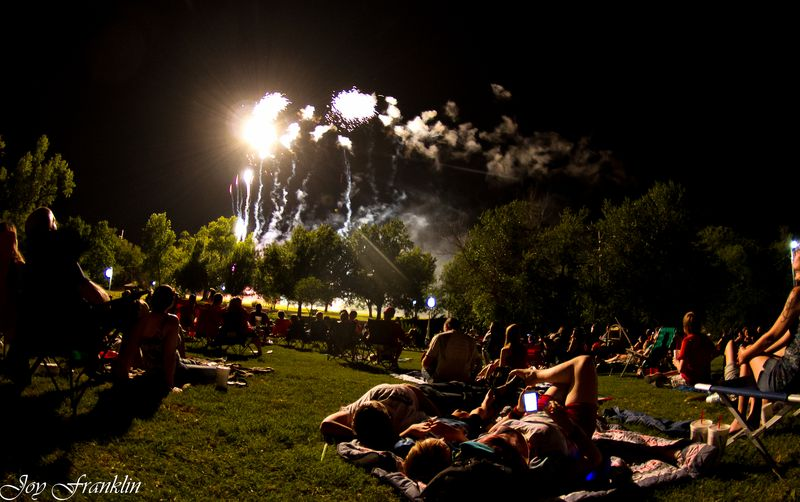 Fourth of July Celebration in Marlow Oklahoma-3352