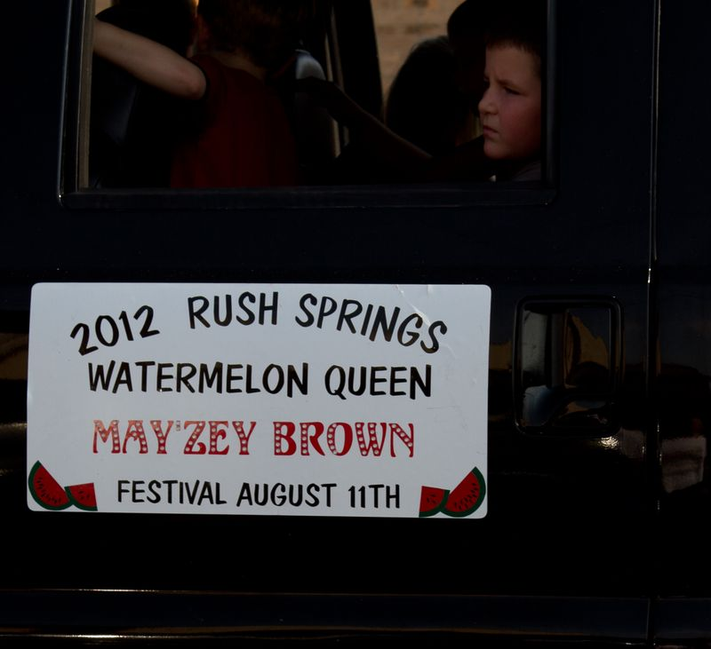 2012 Rush Springs Watermelon Queen May'Zey Brown-5058