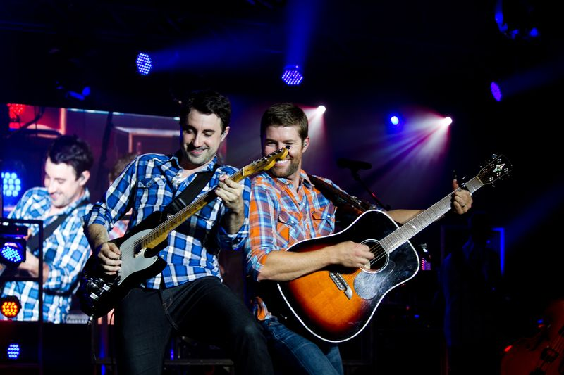 Josh Turner and band at tuskahoma-6100