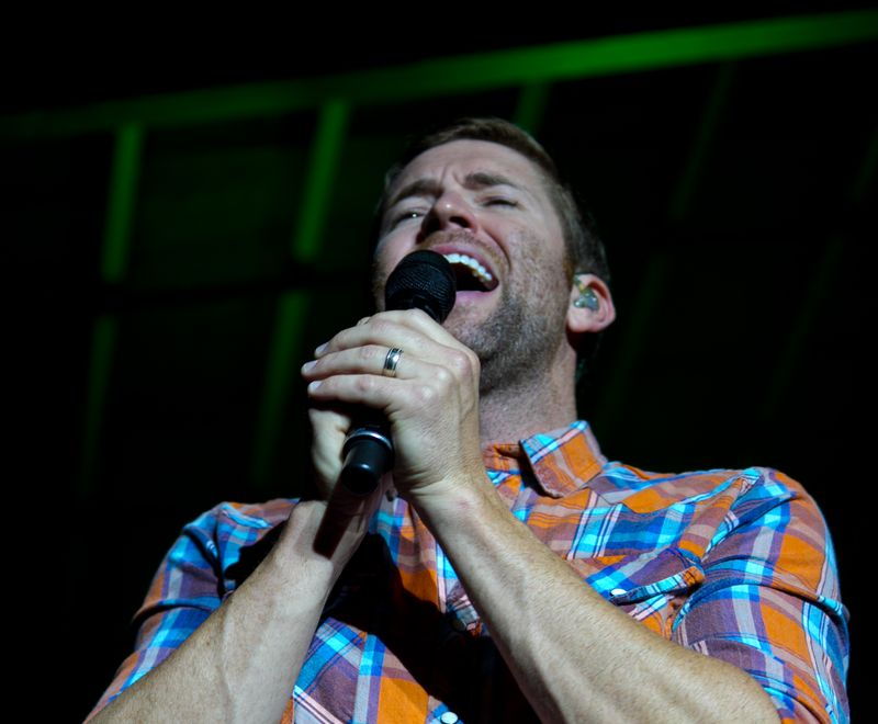 Josh Turner right in front of me at Tuskahoma-6047