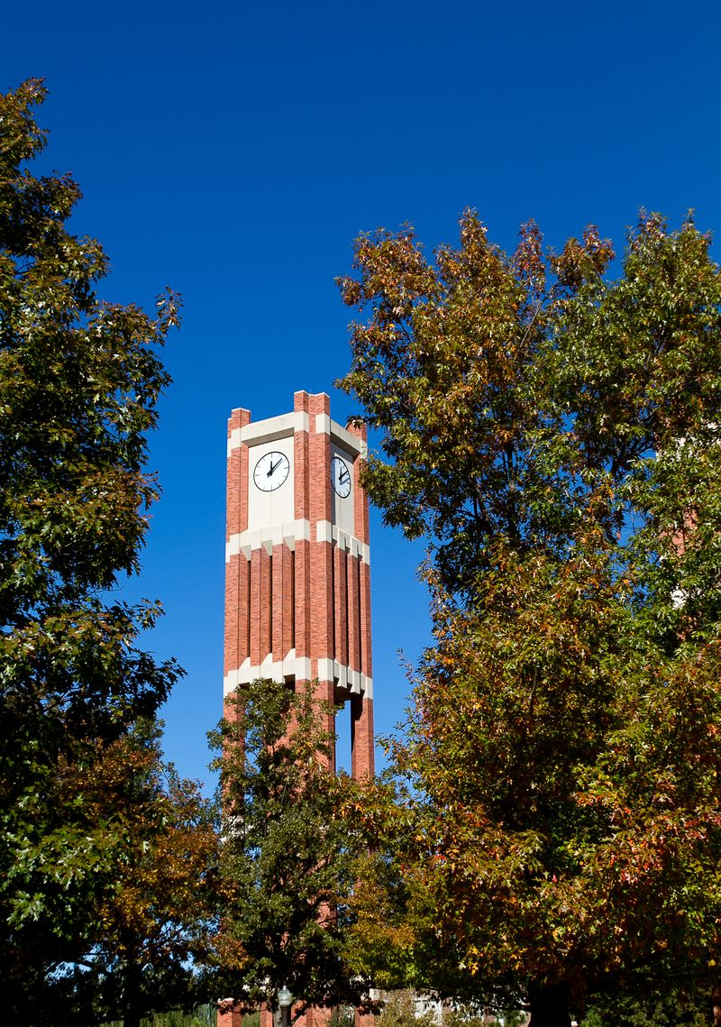 Clocktower at the University of Oklahoma -2253