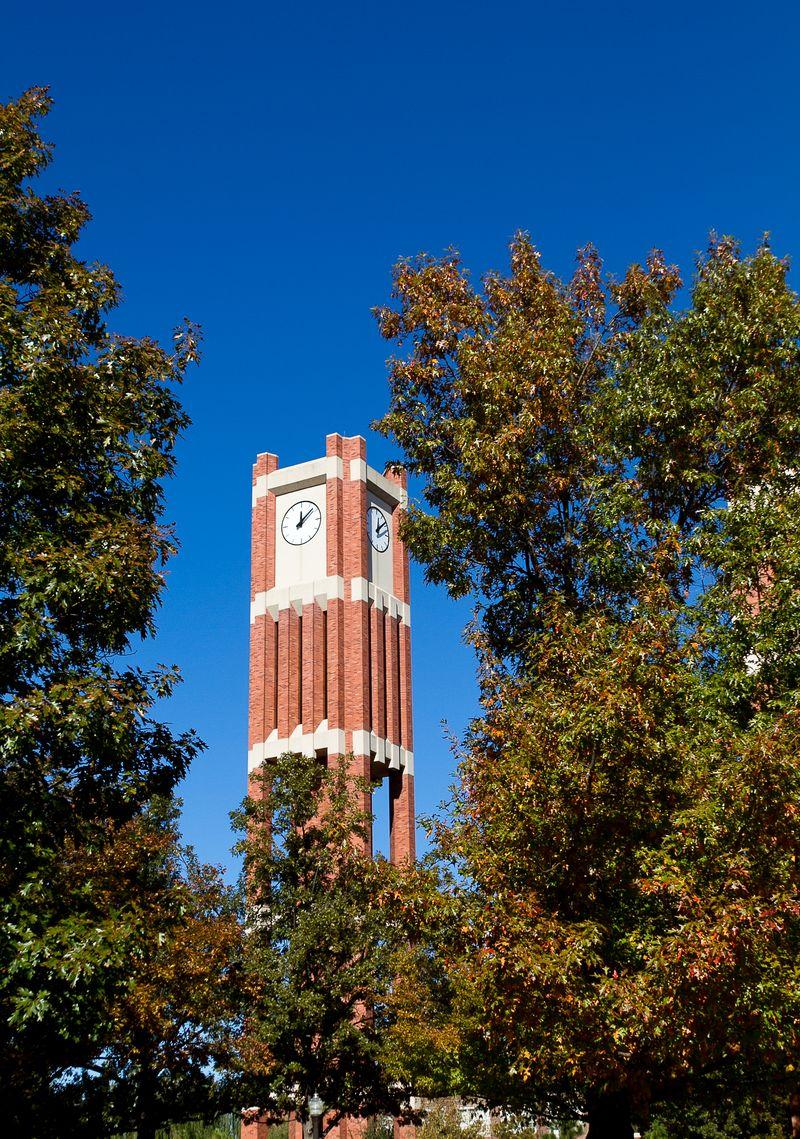 Clocktower at the University of Oklahoma -2253