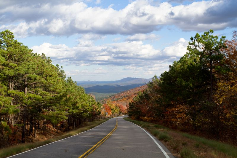Winding Road around the Mountains-2758