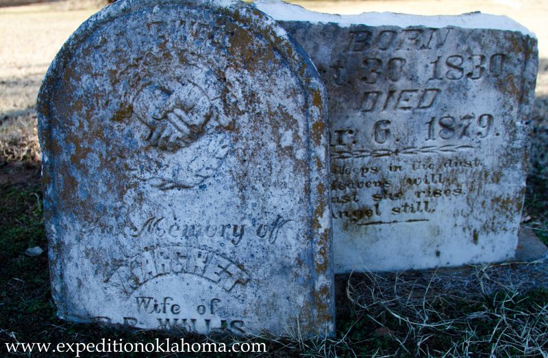 Margaret Willis 1879 buried at Ft. Towson-7159