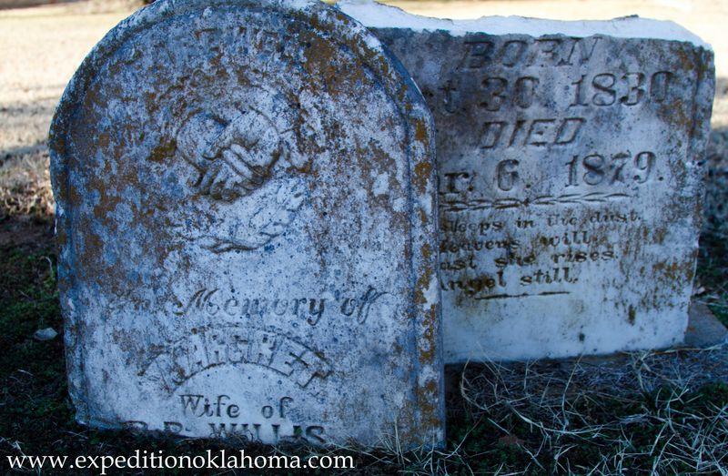 Margaret Willis 1879 buried at Ft. Towson-7159